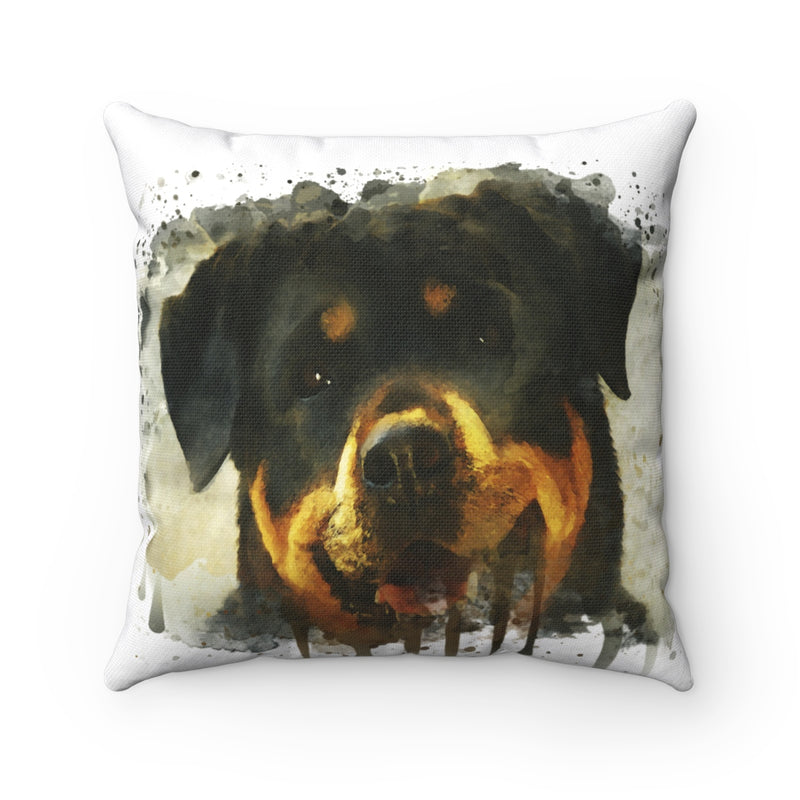 Rottweiler Square Pillow - Zuzi's