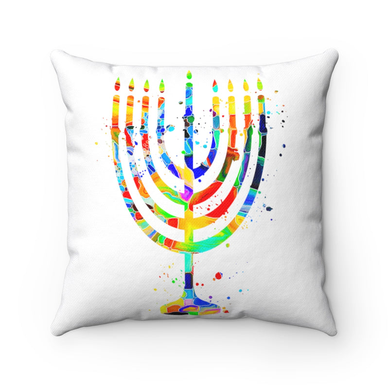 Menorah Square Pillow - Zuzi's