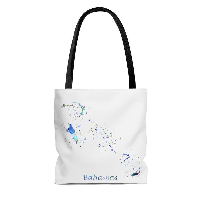 Bahamas Map Tote Bag - Zuzi's