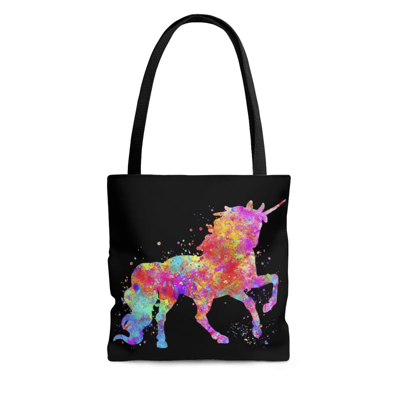 Watercolor Unicorn Tote Bag - Zuzi's