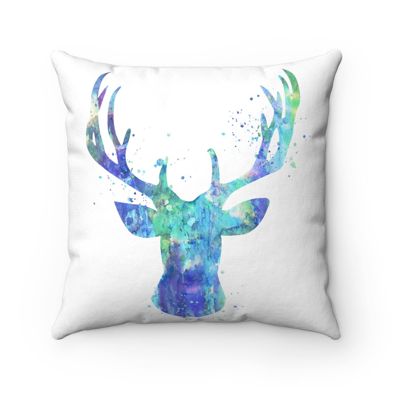 Stag Head Square Pillow - Zuzi's
