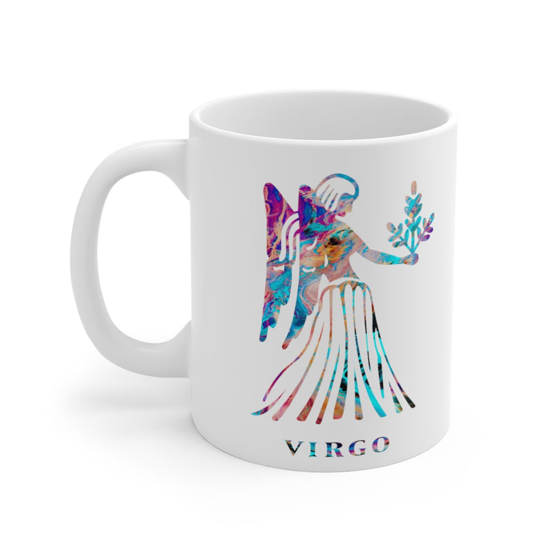 Virgo Zodiac Sign Mug - 11 oz, 15 oz - Zuzi's
