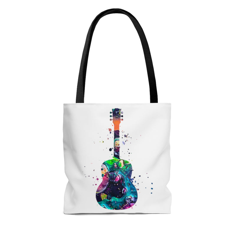Watercolor Guitar Tote Bag - Zuzi's
