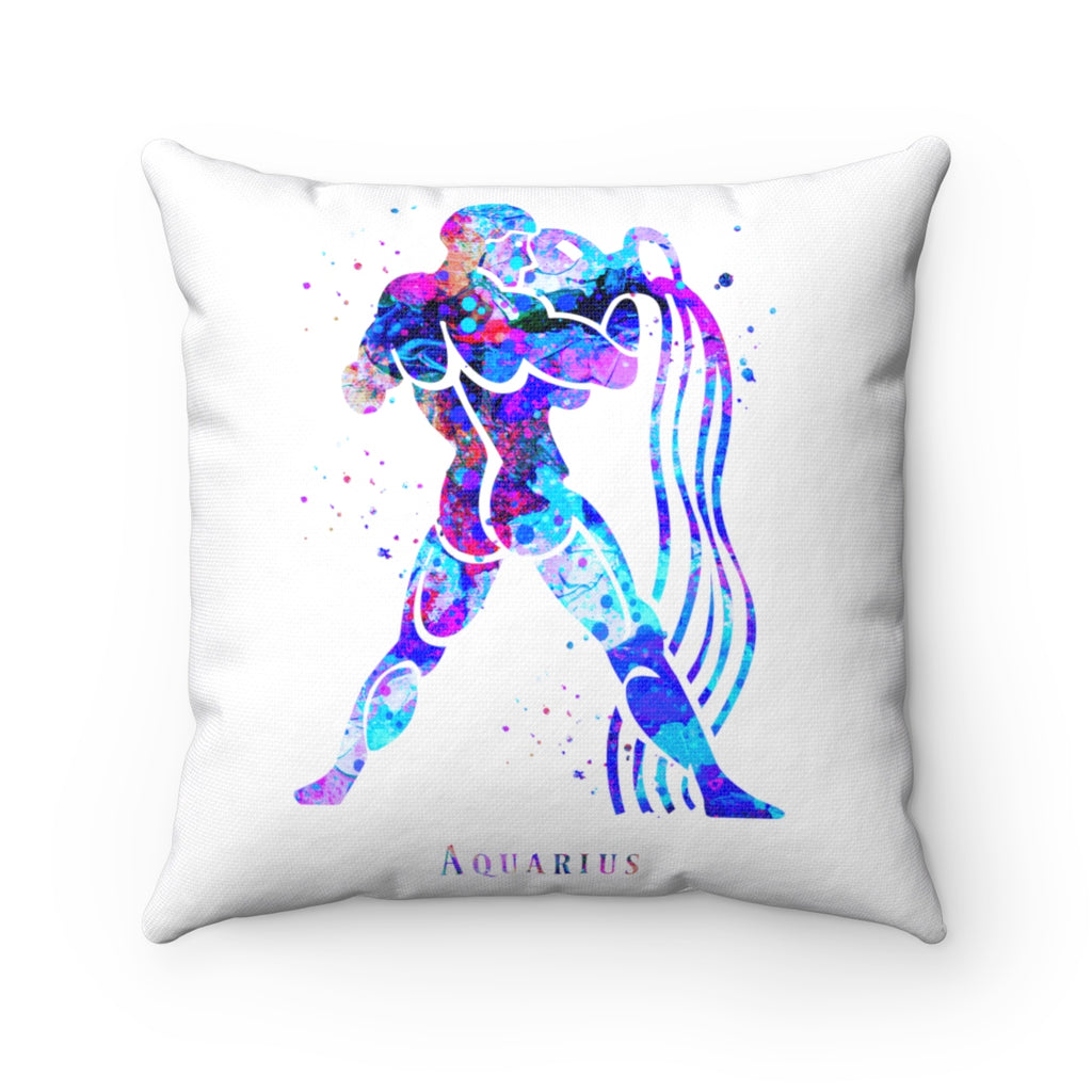 Aquarius Square Pillow - Zuzi's
