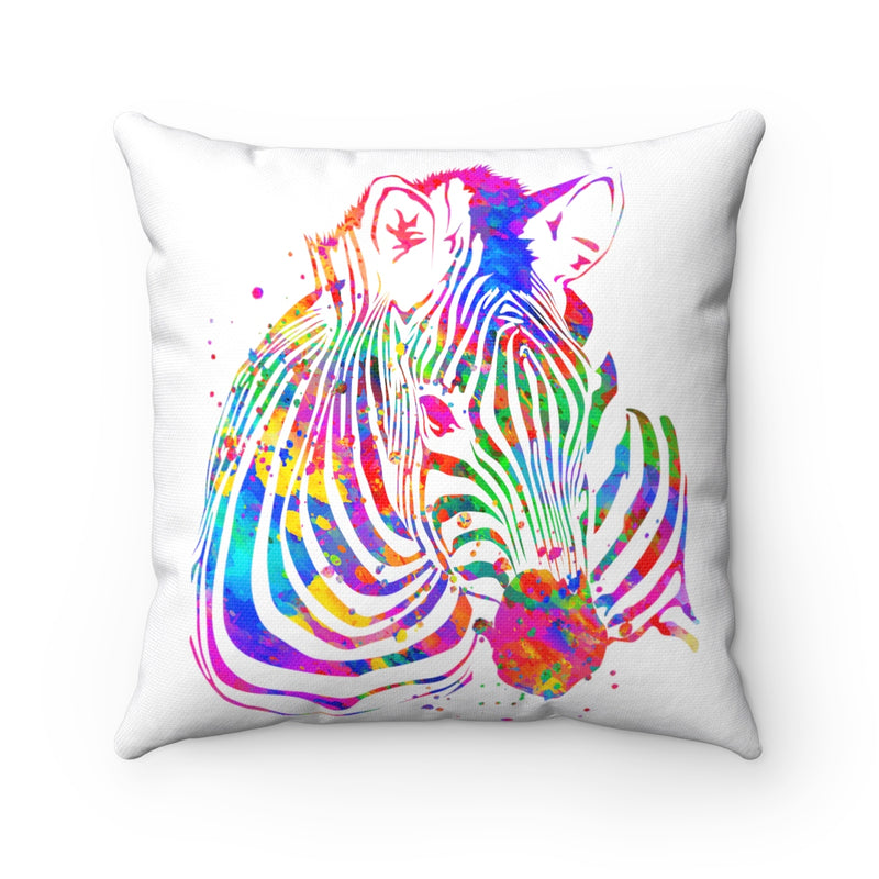Zebra Square Pillow - Zuzi's