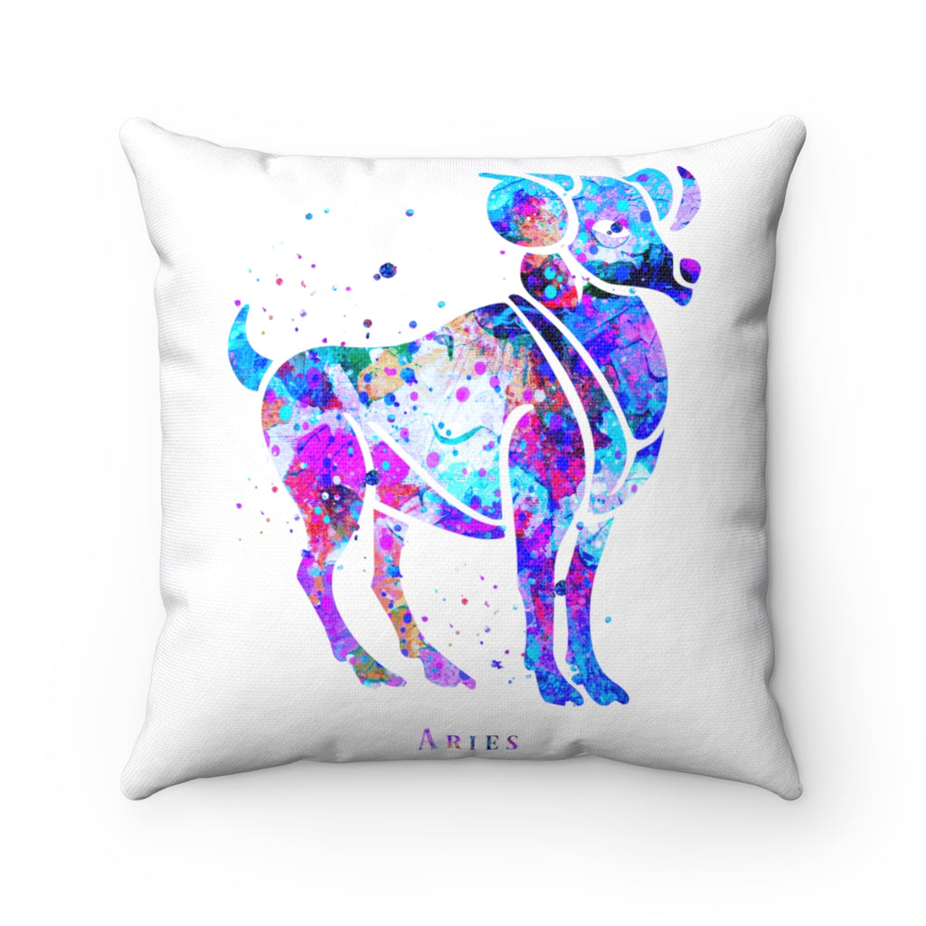 Aries Square Pillow - Zuzi's