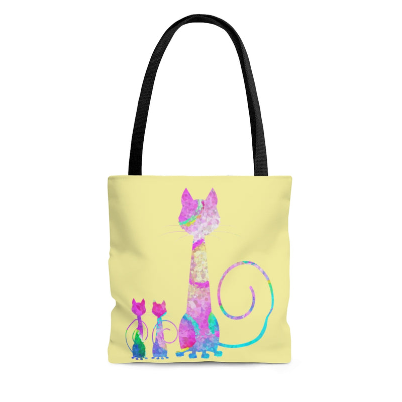 Abstract Cats Tote Bag - Zuzi's