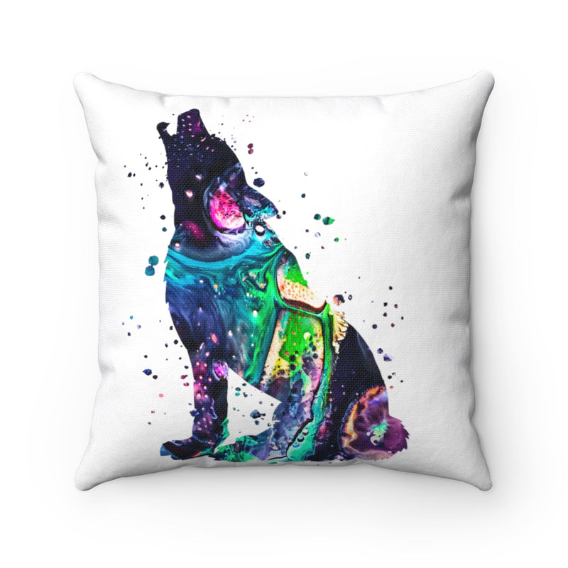 Wolf Square Pillow - Zuzi's