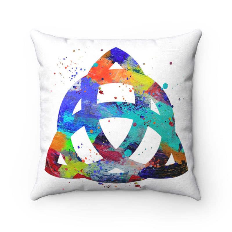Celtic Knot Square Pillow - Zuzi's