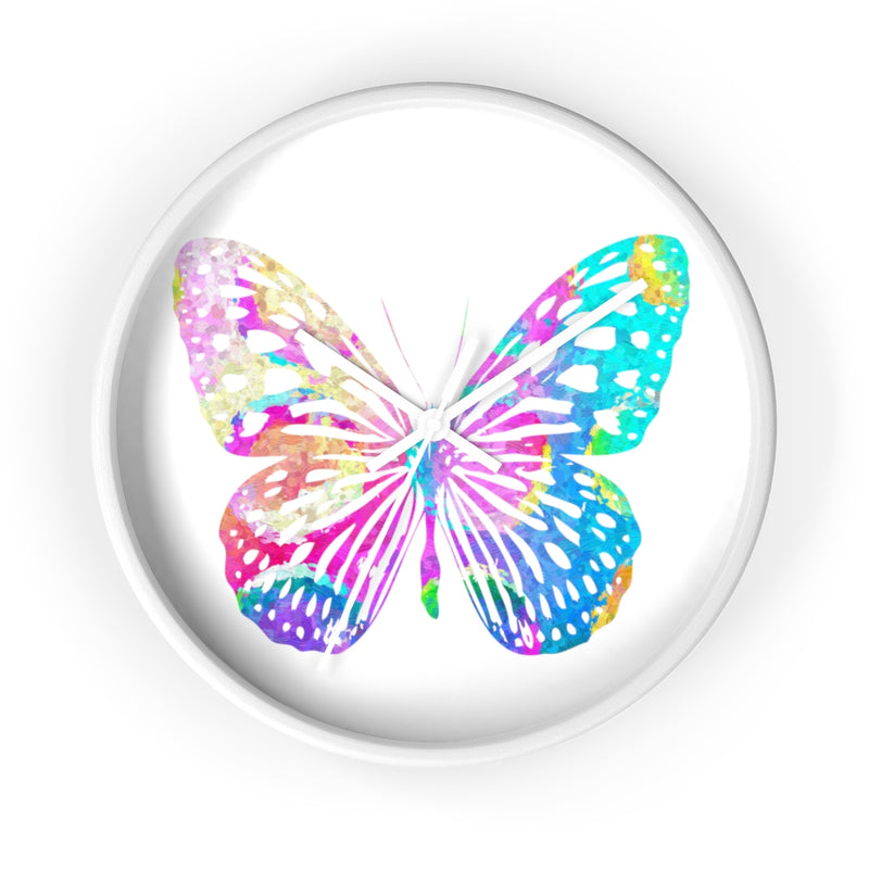 Watercolor Butterfly Wall Clock - Zuzi's