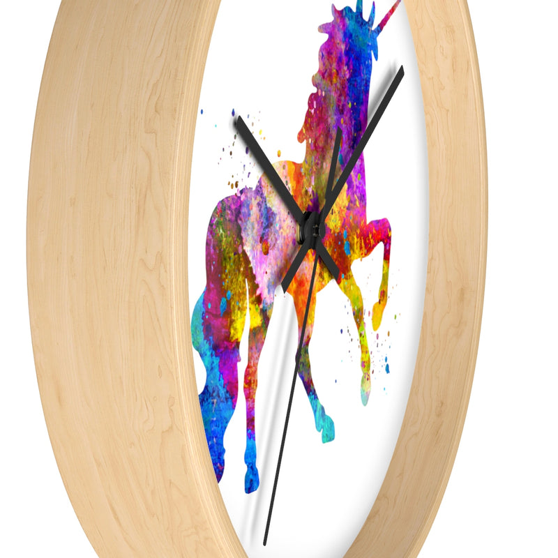 Watercolor Unicorn Wall Clock - Zuzi's