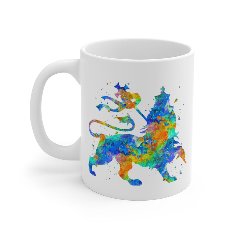 Lion Of Judah Mug - 11 oz, 15 oz - Zuzi's