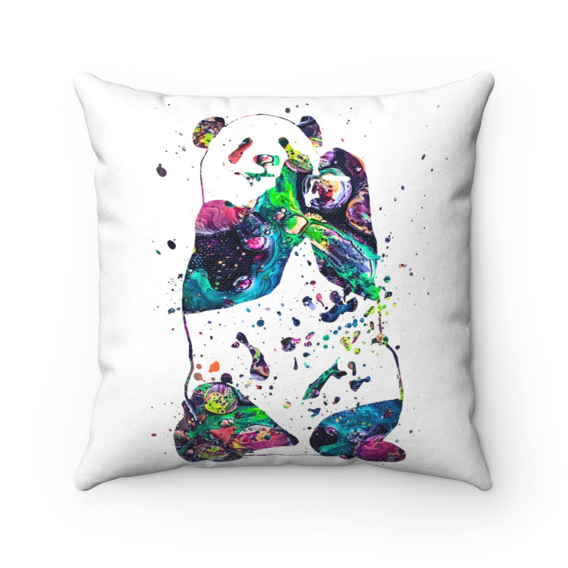 Panda  Square Pillow - Zuzi's