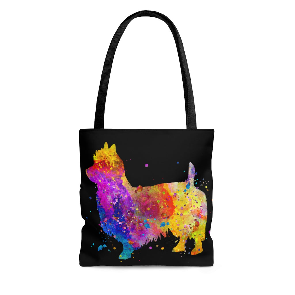 Watercolor Australian Terrier Tote Bag - Zuzi's