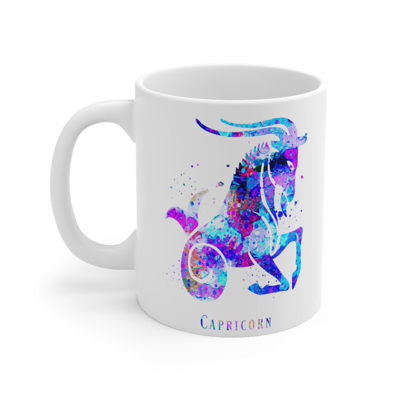 Capricorn Zodiac Sign Mug - 11 oz, 15 oz - Zuzi's