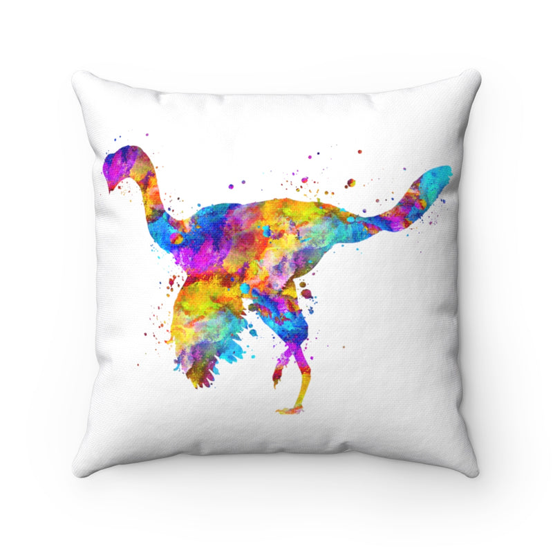 Citipati Dinosaur Square Pillow - Zuzi's