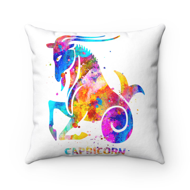Capricorn Square Pillow - Zuzi's