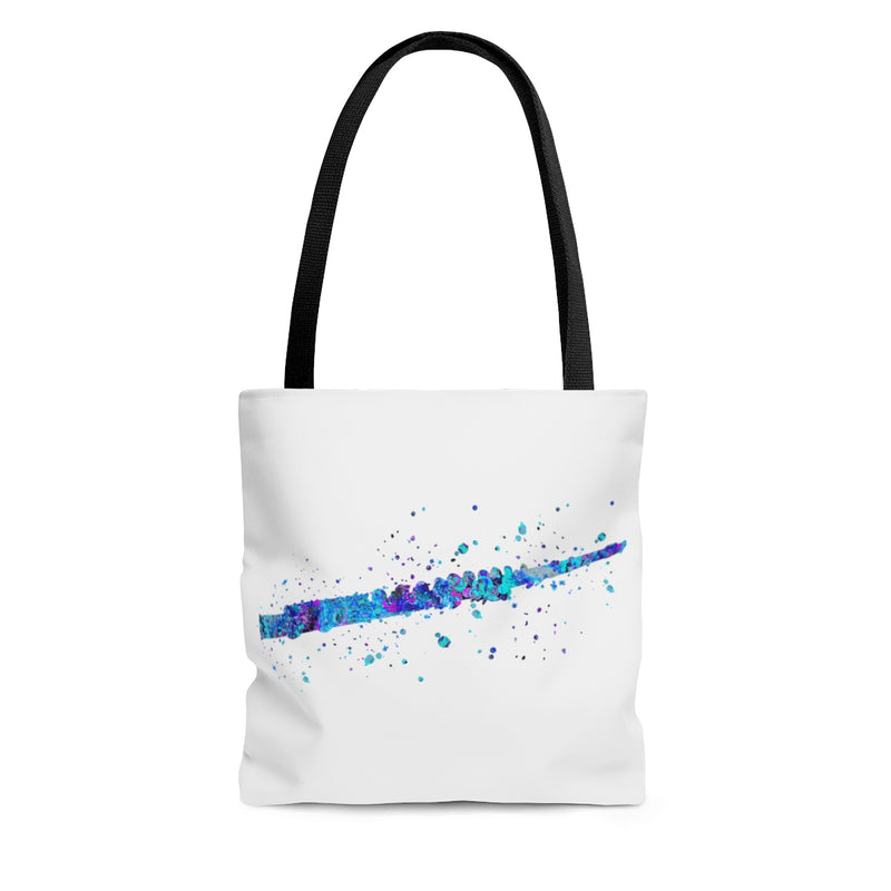 Watercolor Flute  Tote Bag - Zuzi's