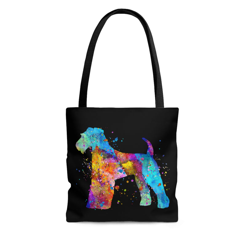Watercolor Airedale Terrier Tote Bag - Zuzi's