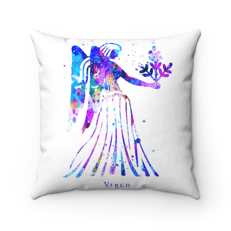 Virgo Square Pillow - Zuzi's