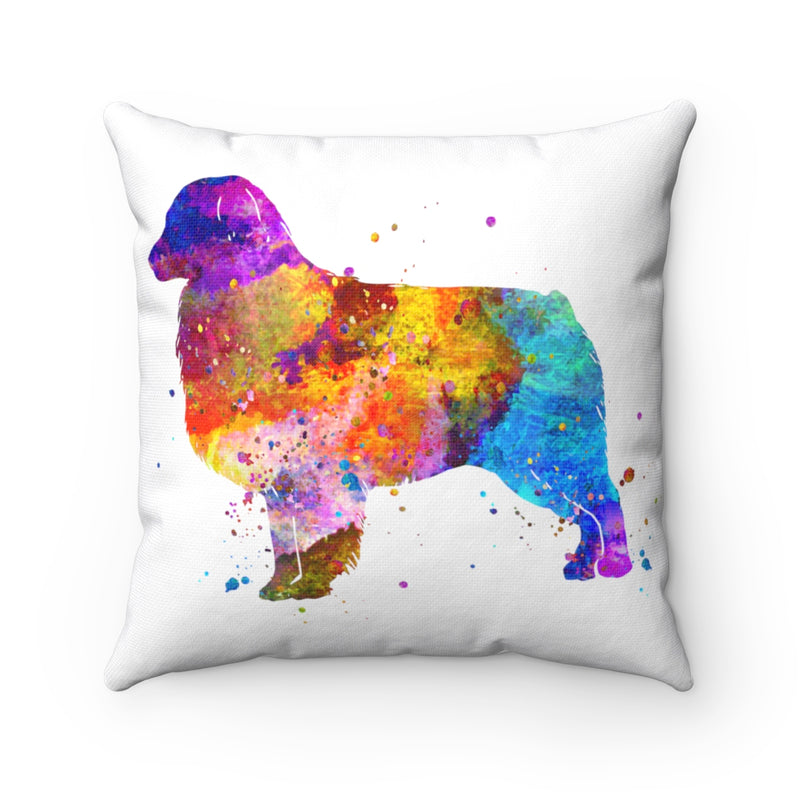 Australian Shepherd Square Pillow - Zuzi's