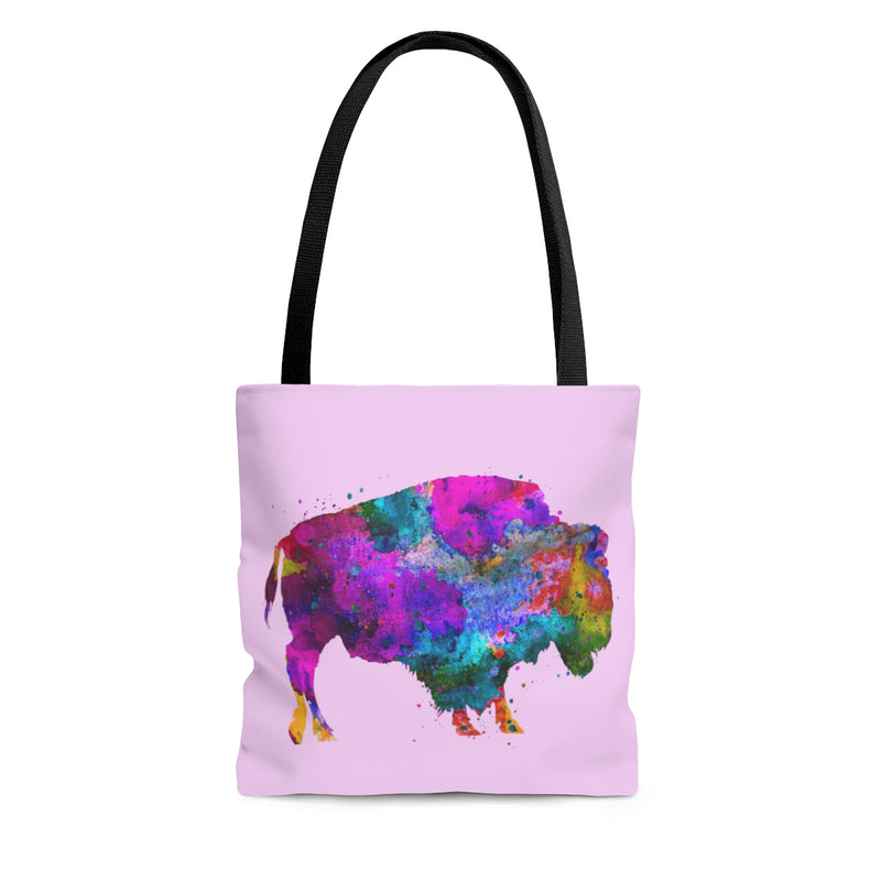 Watercolor Buffalo Tote Bag - Zuzi's
