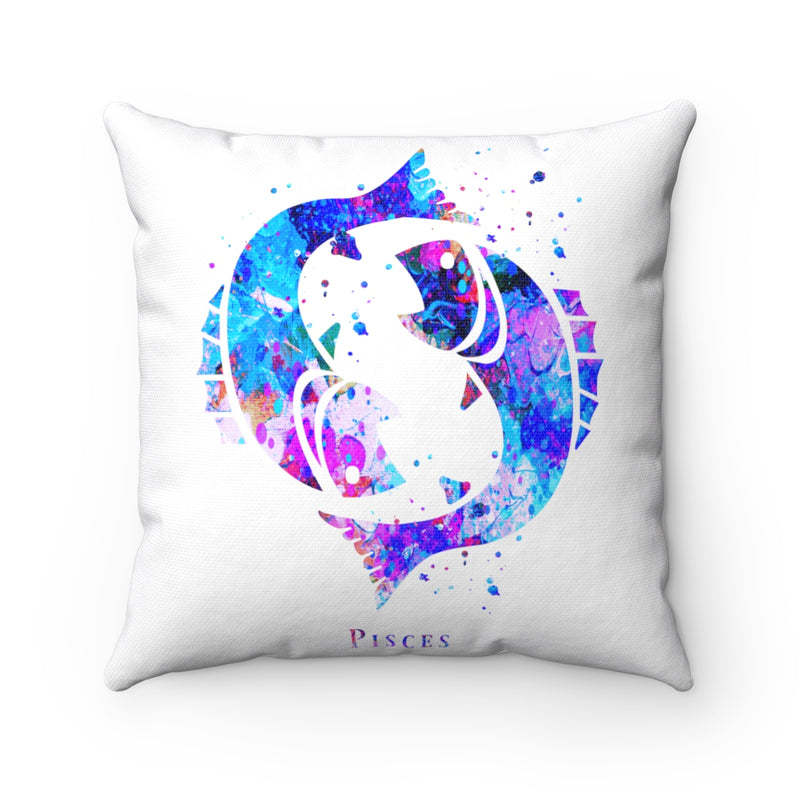 Pisces Square Pillow - Zuzi's