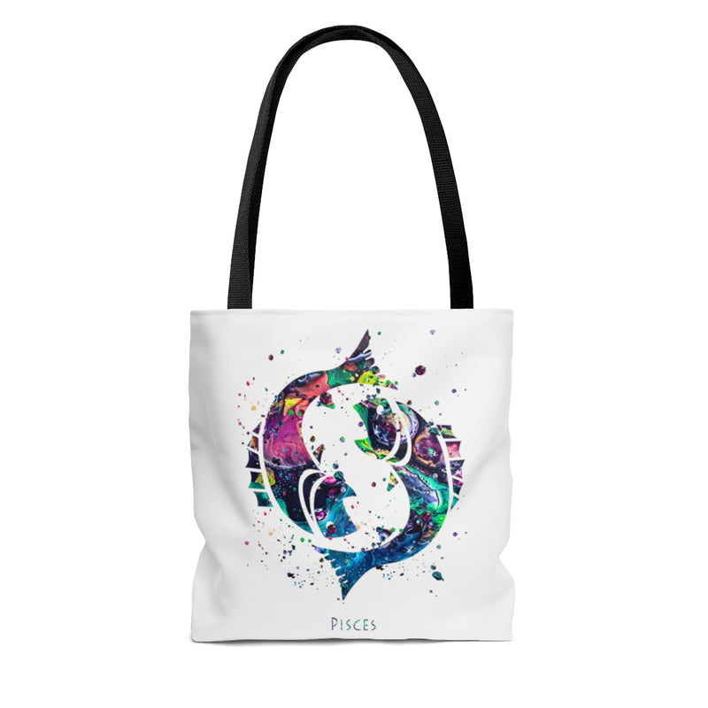Pisces Zodiac Sign Tote Bag - Zuzi's