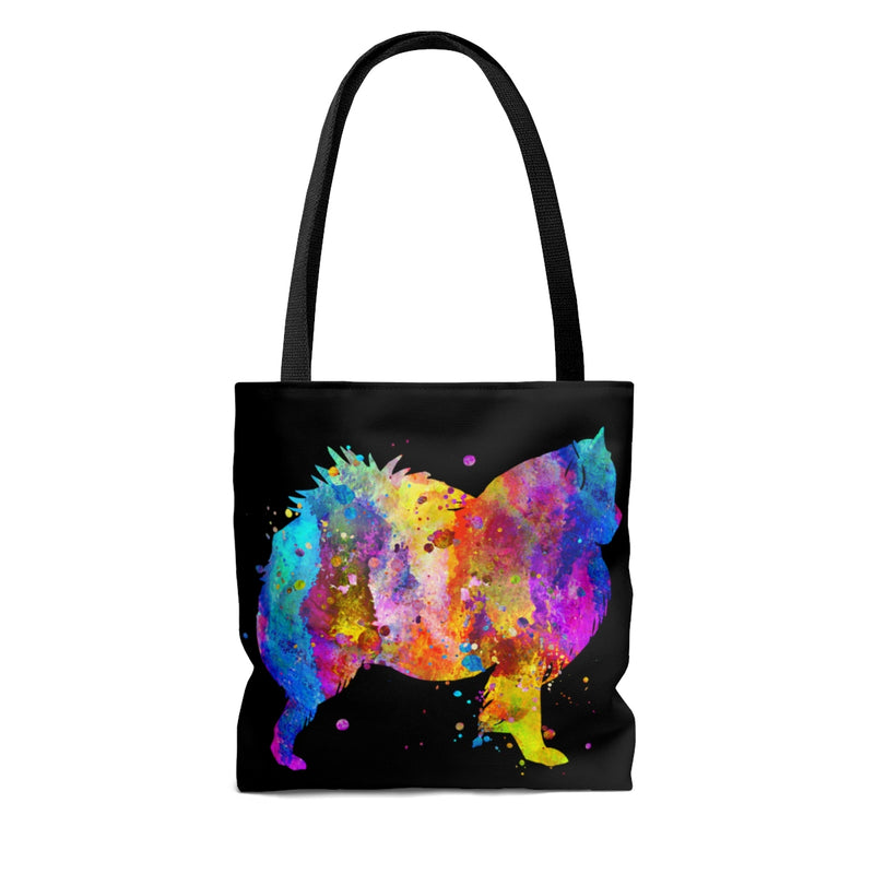 Watercolor American Eskimo Tote Bag - Zuzi's