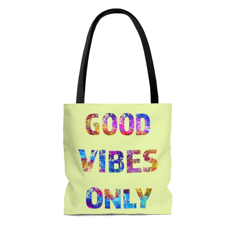 Good Vibes Only Quote Tote Bag - Zuzi's