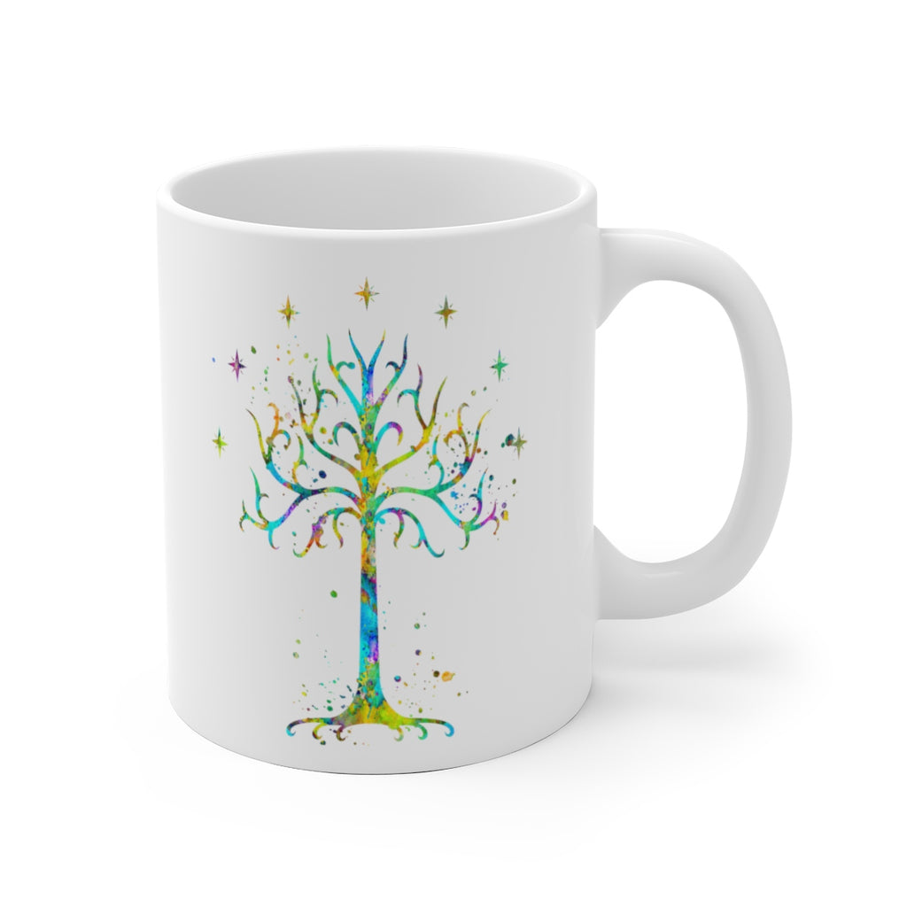 Tree Of Gondor Mug - 11 oz, 15 oz - Zuzi's