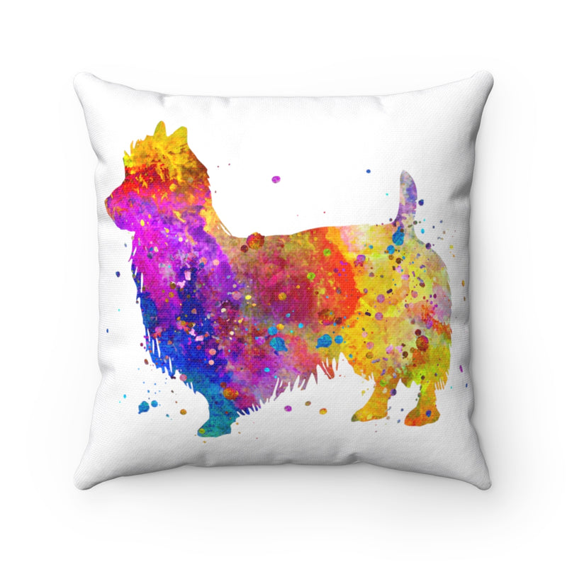 Australian Terrier Square Pillow - Zuzi's