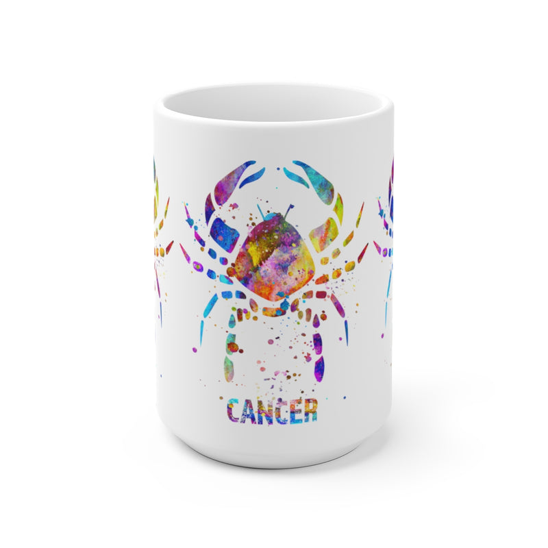 Cancer Zodiac Sign Mug - 11 oz, 15 oz - Zuzi's