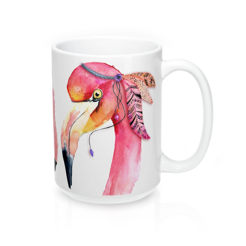 Watercolor Flamingo Mug - Zuzi's