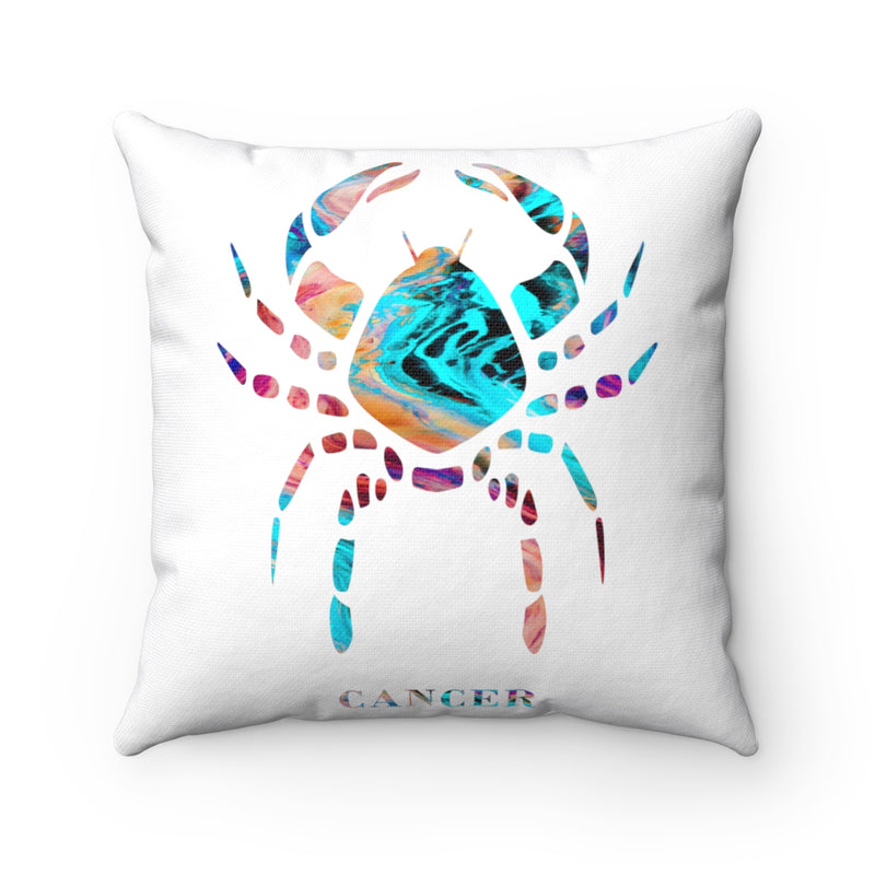Cancer Square Pillow - Zuzi's