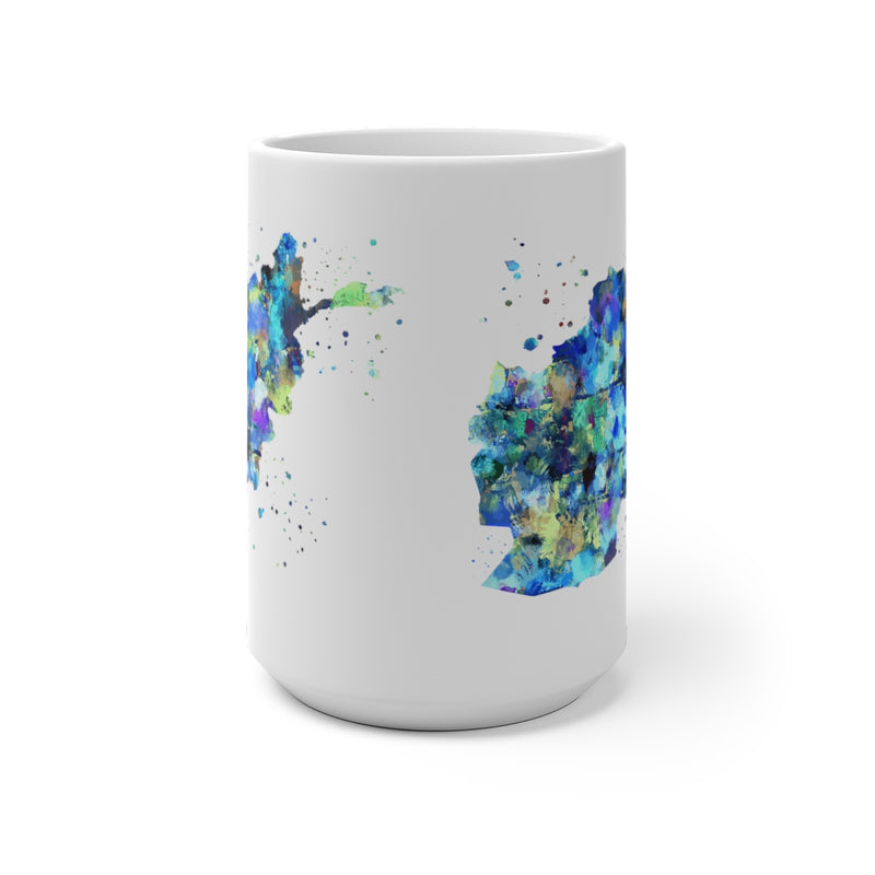 Afghanistan Map Color Changing Mug - Zuzi's