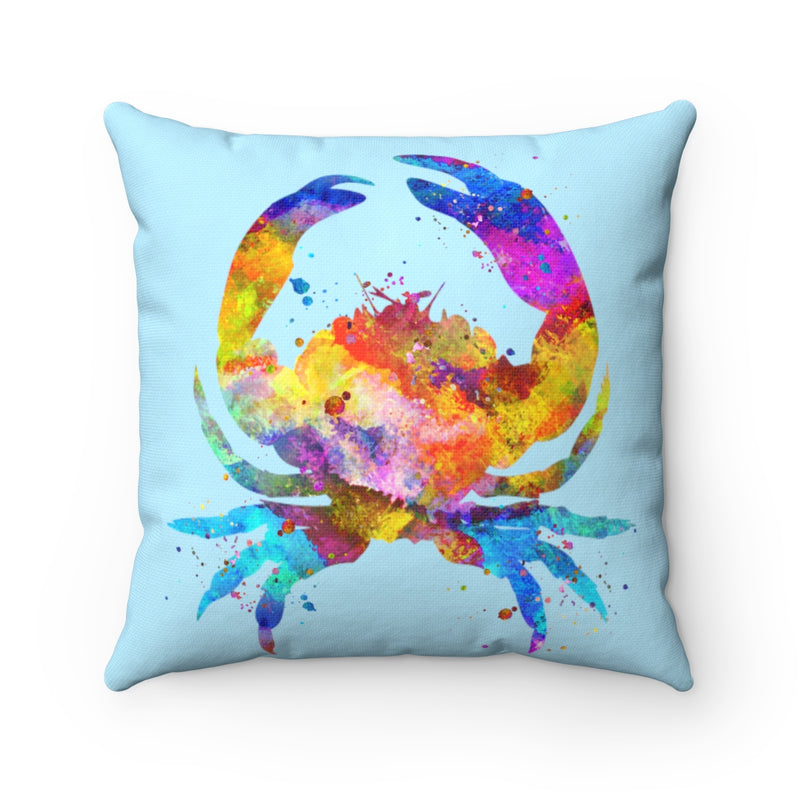 Crab Square Pillow - Zuzi's