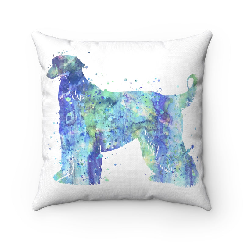 Afghan Hound Square Pillow - Zuzi's