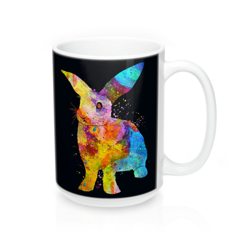 Watercolor Bunny Rabbit Mug - Zuzi's