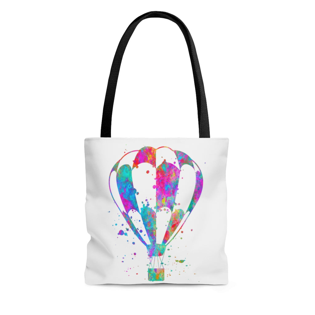 Watercolor Hot Air Balloon  Tote Bag - Zuzi's