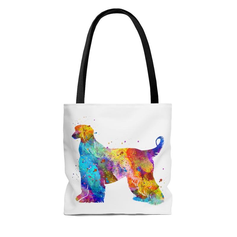 Watercolor Afghan Hound Tote Bag - Zuzi's