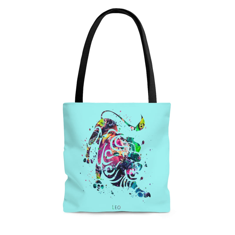 Leo Zodiac Sign Tote Bag - Zuzi's
