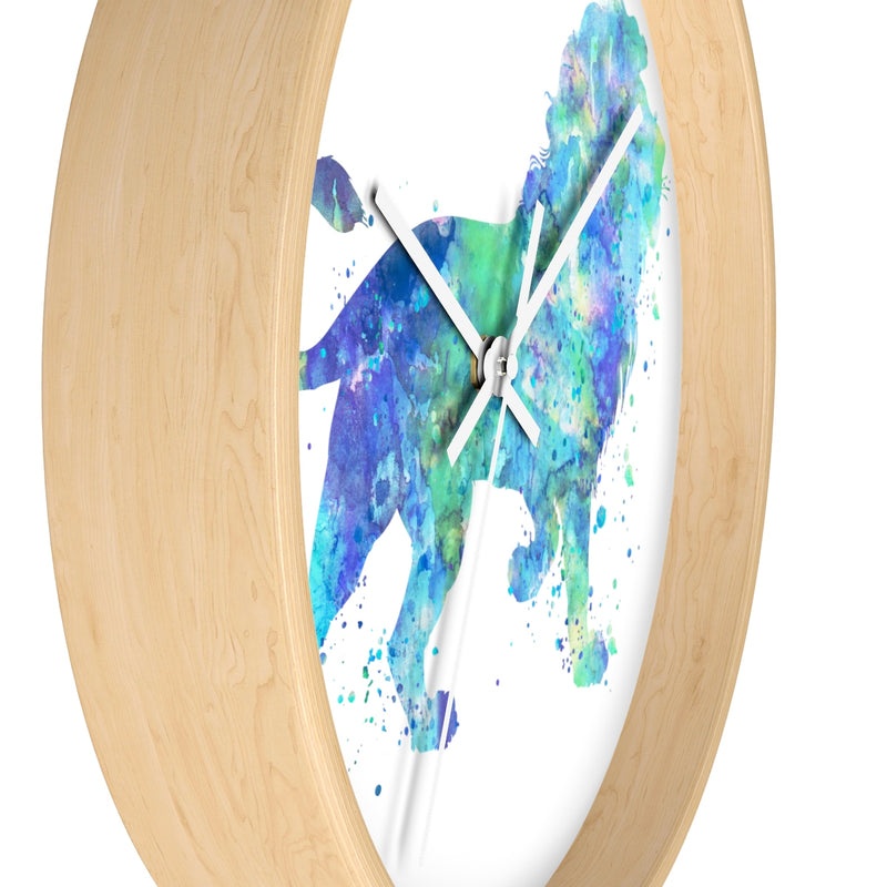 Watercolor Lion Wall Clock - Zuzi's
