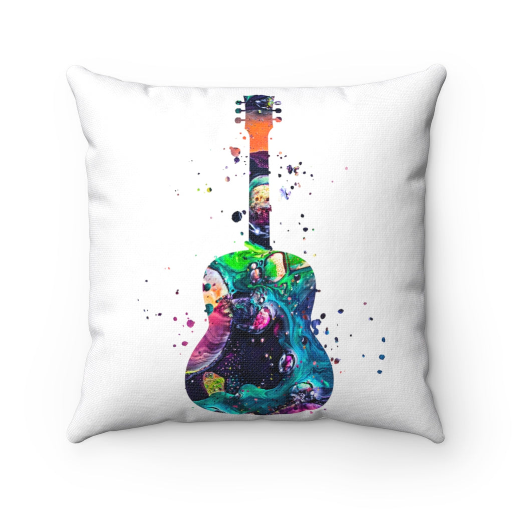 Guitar Square Pillow - Zuzi's
