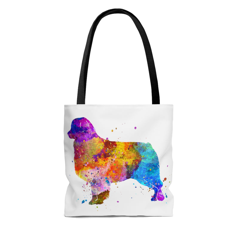 Watercolor  Australian Shepherd Tote Bag - Zuzi's