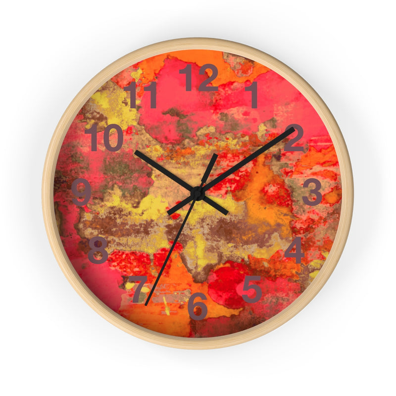 Watercolor Wall Clock - Zuzi's