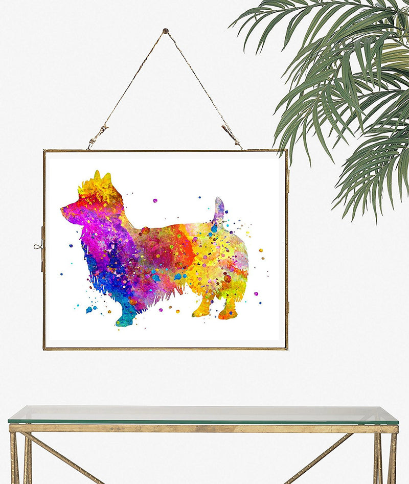 Australian Terrier Watercolor Art Print - Unframed - Zuzi's