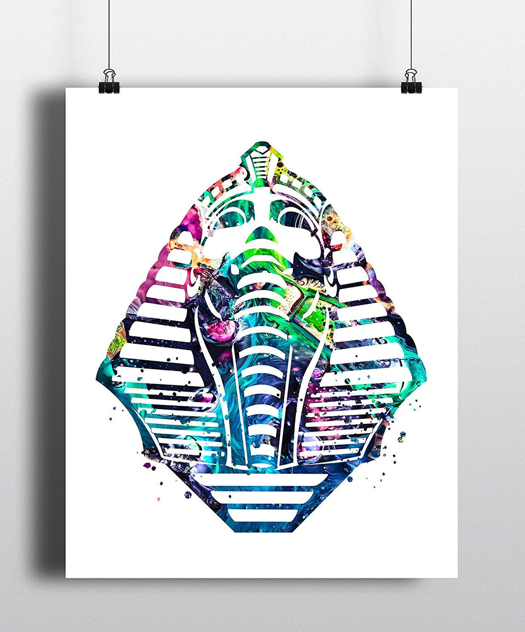 Egyptian Sphinx Watercolor Art Print - Unframed