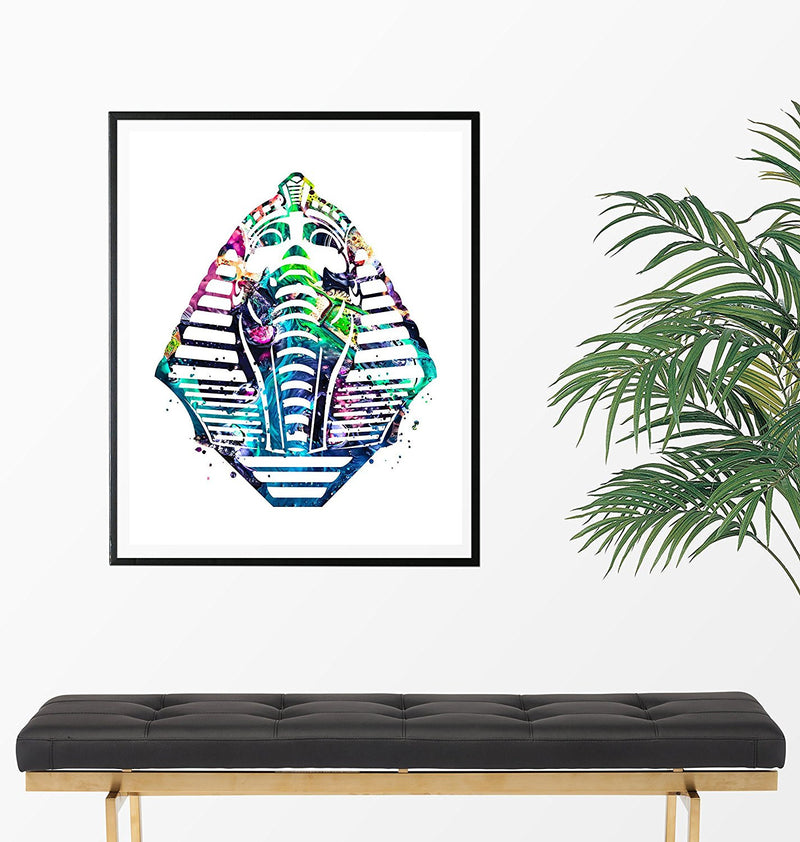Egyptian Sphinx Watercolor Art Print - Unframed - Zuzi's