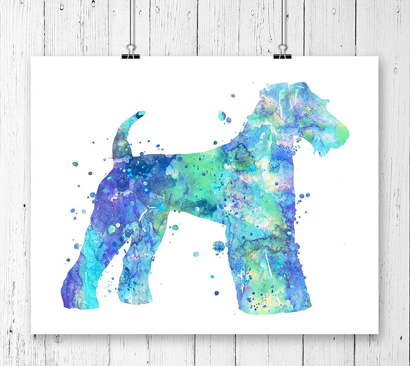 Airedale Terrier Art Print - Unframed